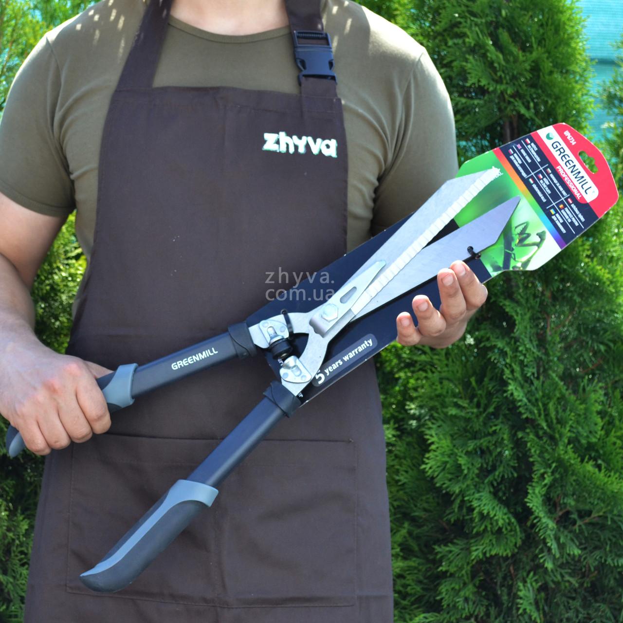 Ножницы в живой изгороди Greenmill профессиональные UP6734