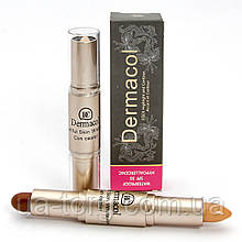 Консилер + бронзер  Dermacol Stick Concealer and Bronzing