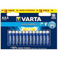 Батарейки LR3 VARTA High Energy AAA Alkaline