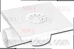 Сантехнический трап Nova 5020N (15х15см, горизонтальный выход, D50)