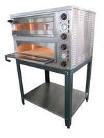 Печь для пиццы профессиональная электрическая 6 кВт., 450°С, АРМ-ЭКО  ППЕ-4Н