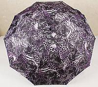 Зонт женский полуавтомат 2 сложения Princces Moskow Леопардовый, фото 1