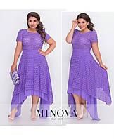 Женское нарядное платье. Ткань прошва + батист. Размер 42, 44, 46, 48, 50, 52, 54, 56