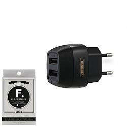 Зарядное устройство Remax Flinc Charger RP-U29 2.1A Black