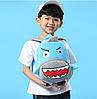 Рюкзак детский плюшевый Акула, фото 2