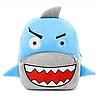 Рюкзак детский плюшевый Акула, фото 4