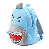 Рюкзак детский плюшевый Акула, фото 5