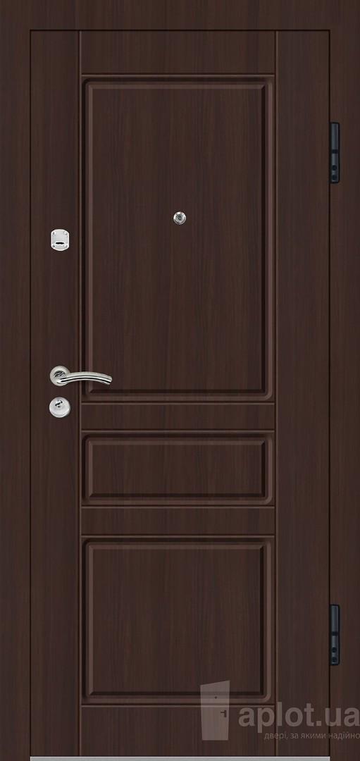 Двері вхідні. Aplot. Silver shell