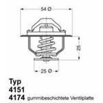 Термостат Iveco Daily 2,5D/2,8D 79C Wahler