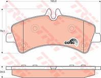 Колодки тормозные Mercedes SPRINTER задние (TRW). GDB1699, фото 1