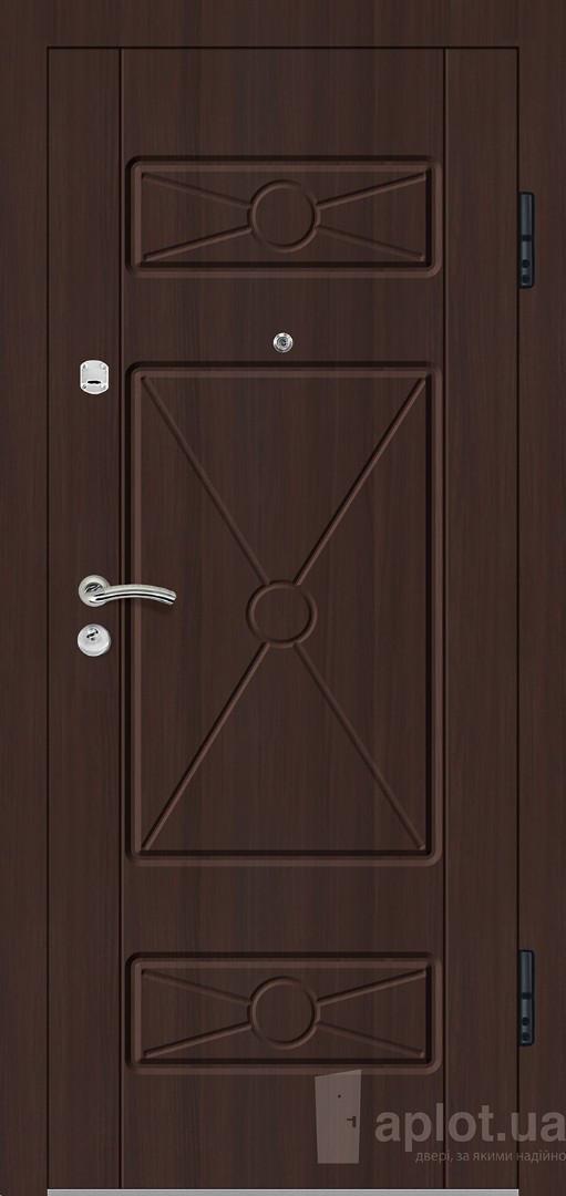 Двері вхідні. Aplot. Gold steel