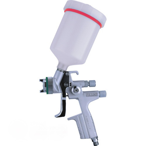 Краскопульт пневматический LVMP верх.пласт.бачок 600мл, форсунка-1,4мм  ITALCO H-5000-1.4LM
