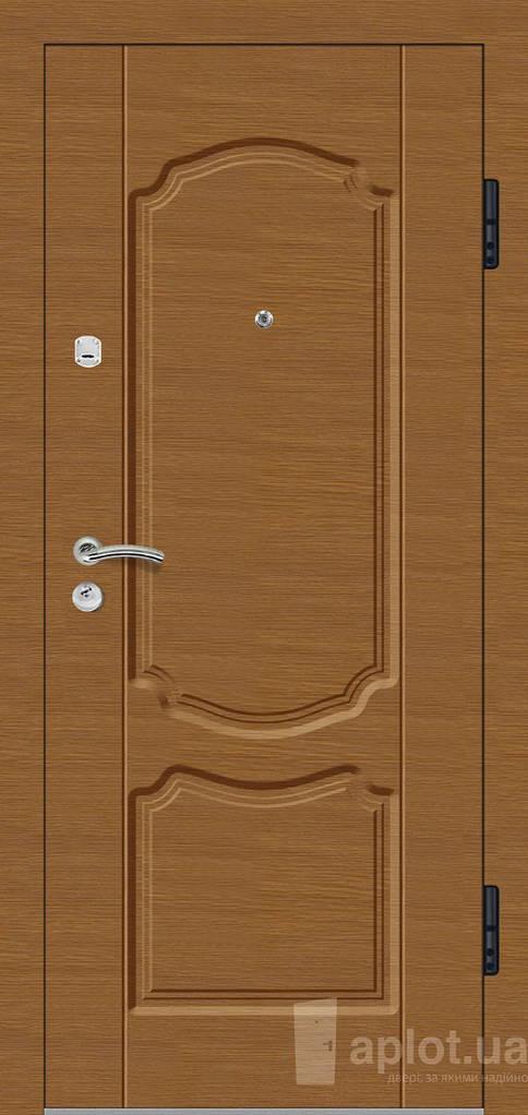 Двері вхідні. Aplot. Gold shell