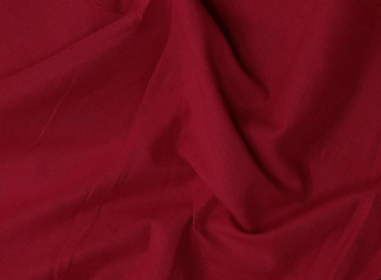 Батист (коттон), красный