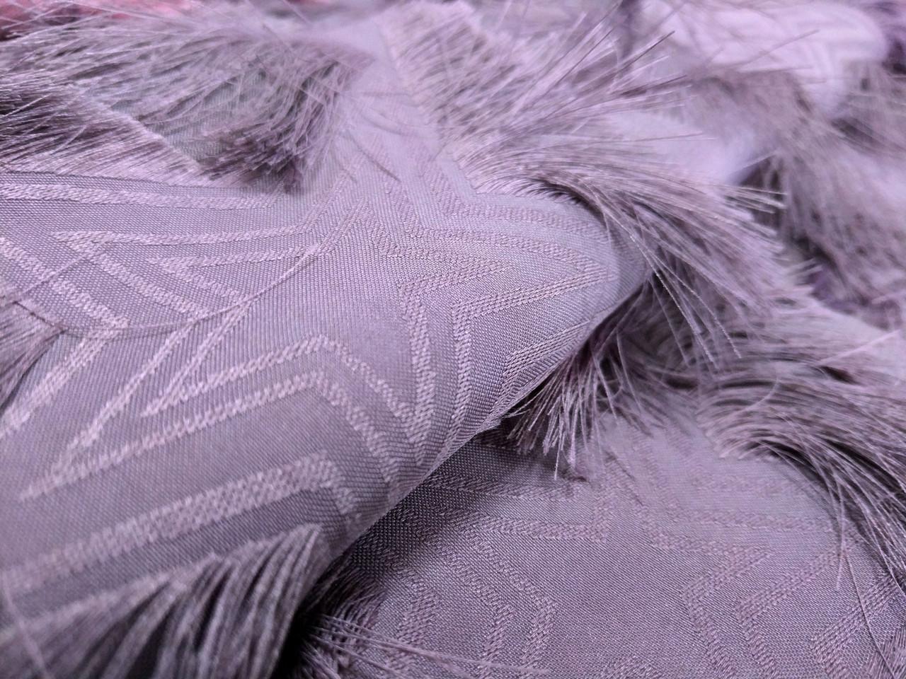 Жаккард ресничка звезды, фиолетовый крайол