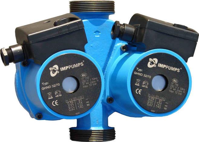 Циркуляційний насос POC-pumps GPD 25-4-180, макс. подача 2,5м3, монтажна довжина 180мм, фото 2