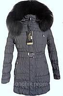 Зимняя куртка лиса