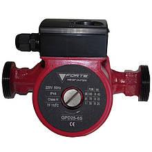 Циркуляційний насос FORTE GPD 25-4S-180, макс. подача 2,5м3, монтажна довжина 180 мм