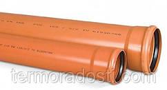 Труба ПВХ для наружной канализации Ostendorf 110х3,2х1000 мм