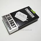 Сетевое зарядное USB 2 А устройство/сетевой адаптер Golf GF-U206S, фото 9