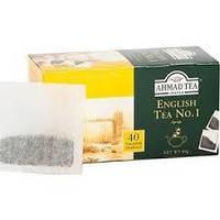 Чай Ахмад English Tea № 1, 40 пак.