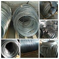 Проволока стальная оцинкованная термически необработанная Ф 2,9 мм, фото 1