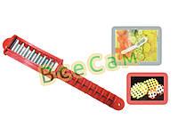 Нож для производства фигурной сетки из овощей, картошки, сыра