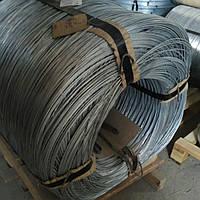 Проволока стальная оцинкованная термически необработанная Ф 5, фото 1