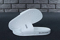 b48fbbf0 Тапки женские в стиле Balenciaga Slippers код товара KD-11569. Белые