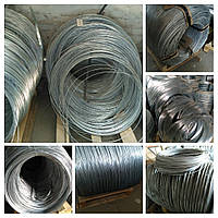 Дріт сталевий оцинкований термічно оброблена Ф 1,8, фото 1