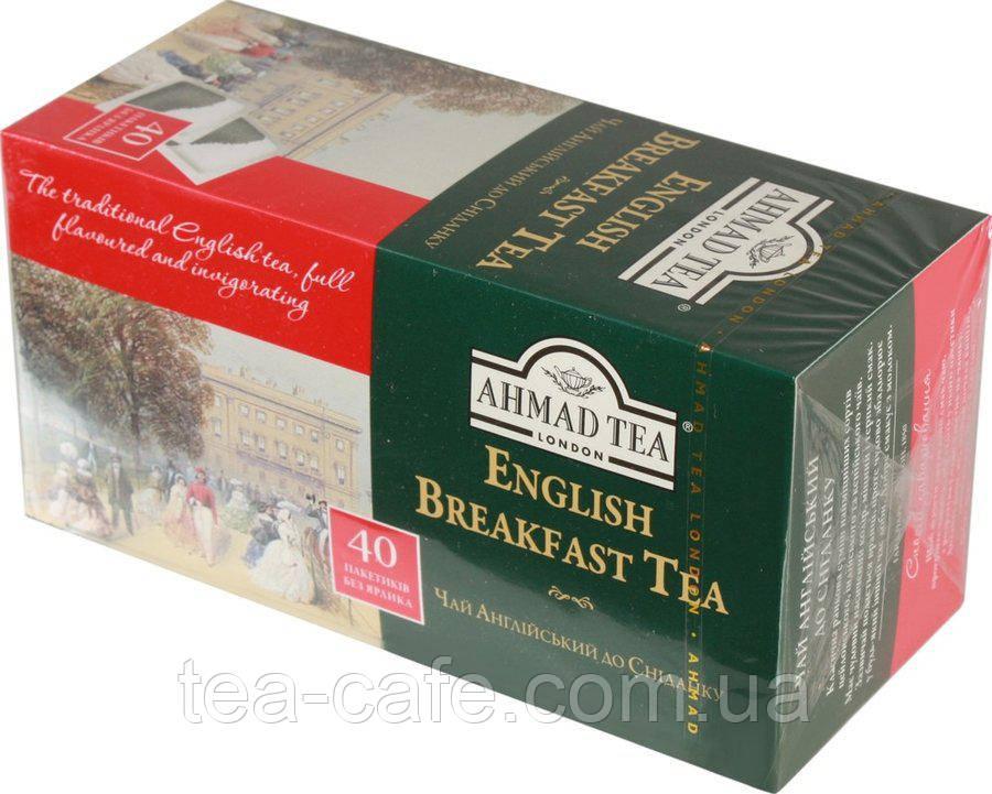 Чай Ахмад English Breakfast , 40 пак