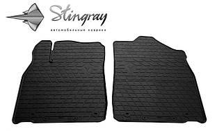 LEXUS ES 2012- Комплект из 2-х ковриков Черный в салон