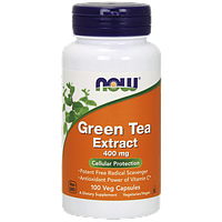 Комплекс с экстрактом зеленого чая NOW Green Tea Extract (100 капс)