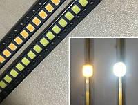 SMD светодиод 2835 0.2W, белый 20-22 LM, фото 1