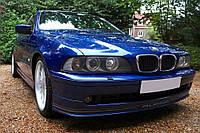 Накладка на передний бампер губа обвес BMW E39 рестайл стиль Alpina
