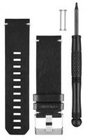 Ремешок Fenix 3 BLACK LEATHER WATCH BAND 010-12168-29