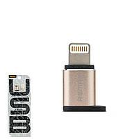 Переходник Remax RA-USB2 с Lightning на Micro USB