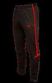 Зауженные спортивные штаны Arsenal Titar черно/красный