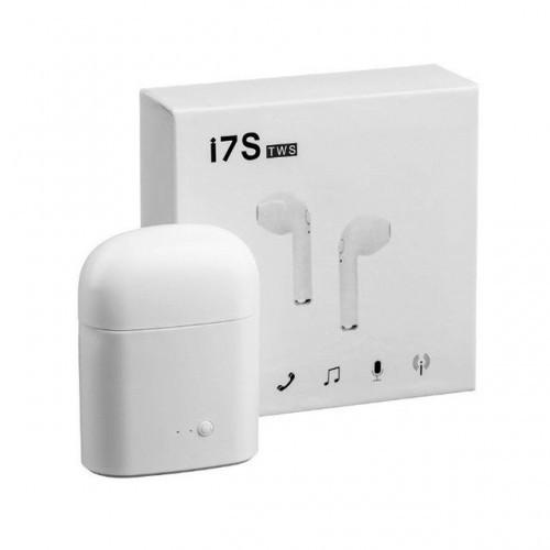 Беспроводные Bluetooth наушники i7s HBQ с кейсом