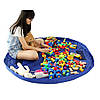 Игровой коврик-мешок сумка для хранения игрушек, фото 3