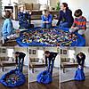 Игровой коврик-мешок сумка для хранения игрушек, фото 2