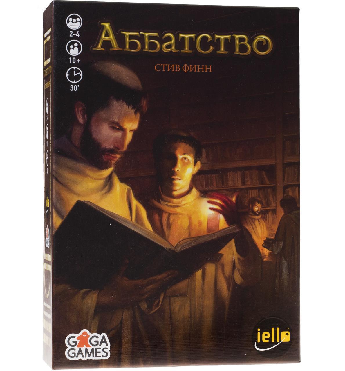 "Настольная игра ""Аббатство (Biblios)"" GaGa Games"