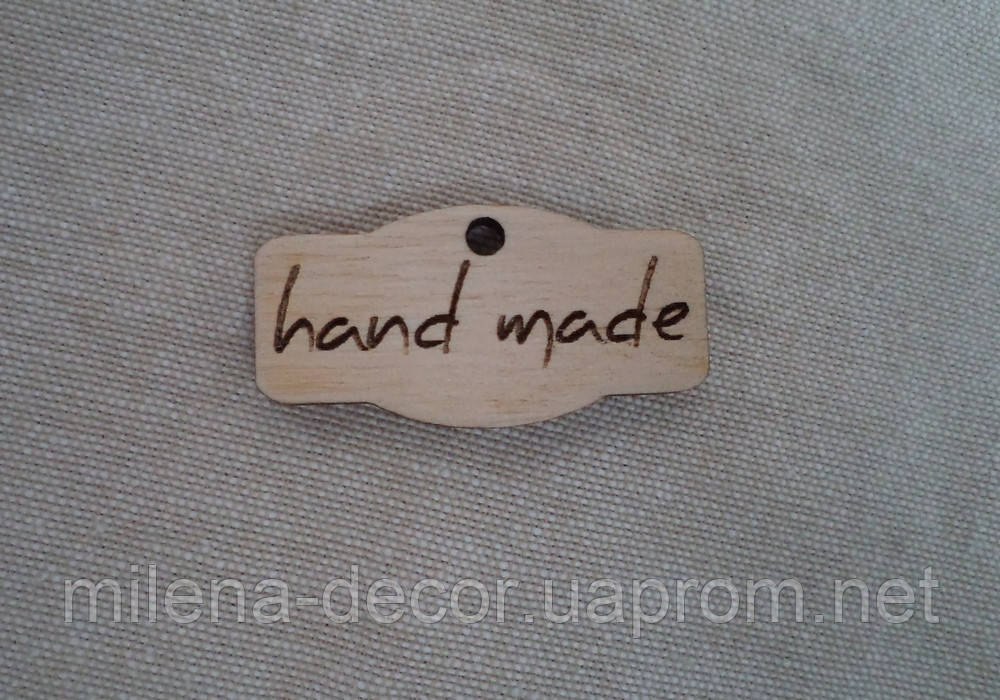 "Бирка ""hand made"""