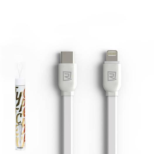 USB кабель Remax RC-037a Type C to Lightning 1m White