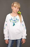 """Вышиванка для девочек """"Волошка"""" ( арт. BA2-4.8.1 ), фото 1"""