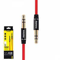 Аудио кабель AUX Remax RL-L100  1m