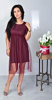 """Нарядное летнее платье """"Карина"""" размеры 44-46,48-50"""