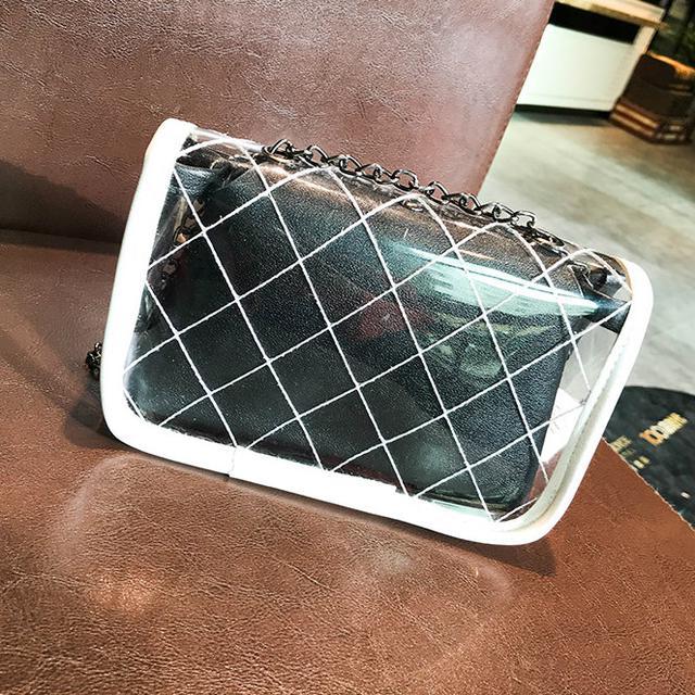 Силиконовая маленькая сумка с косметичкой