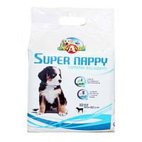 Пеленки для собак CaniAMici Super Nappy 90х60 см Пеленки для собак- предназначены для быстрого и эффективного впитывания влаги