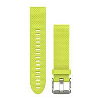 Ремешок Fenix 5s 20 mm QuickFit Amp Yellow Silicone Band 010-12491-13